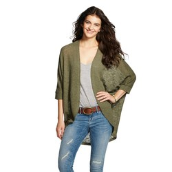 Mossimo Women's Cocoon Cardigan - Green - Size: L