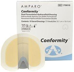 Amparo Medical Conformity Dual Formulation Wound Dressing 10Pk