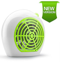 Insect Killer & Electric Bug Light Zapper - Indoor Mosquito Repellent for Natural Control - Best Repeller Inside House and Home with Electronic UV Lamp to Trap & Kill - Safe to Children, Babies & Pets