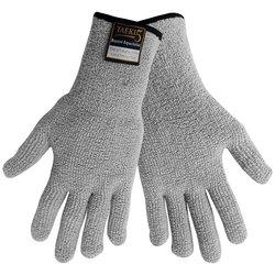 Global Glove TAK1200 Taeki5 Terrycloth Working Glove- Case of 72- Gray - L