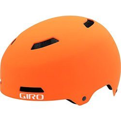 Giro Quarter Helmet - Men's Matte Flame/titanium Medium
