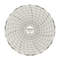 "Dickson C671 Circular Chart Pack of 60 - Size: 6""/152mm Diameter"