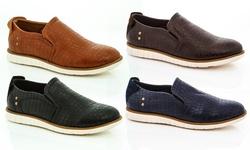 Franco Vanucci Oxford Men's Loafers: Tan/11.5