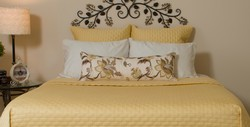 BedVoyage Rayon from Bamboo Coverlet - King - Butter
