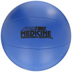 Sportime Molded Medicine and Training Ball - Blue