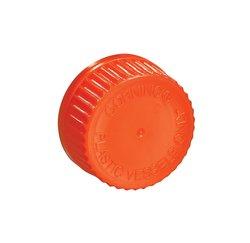 Corning High Density Polyethylene Disposable Transfer Cap 2 Case - Orange