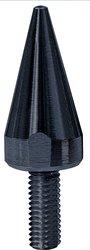 Yana Shiki YNSKWS-1148 Smooth Pointed Style Windscreen Screw Kit - Black