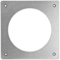 Dwyer Flat Bracket for Flush Mounting Gauges - Aluminum