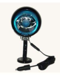 Larson Electronics MUL Magnetic Mount Blue Bulb Spotlight - 10'-Coil Cord