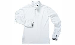 Zorrel Men's 1/4 Zip Micro-Fleece Pullover - White - Size: M