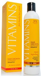 Vitamins Hair Loss Shampoo - 121% Regrowth and 47% Less Thinning - With DHT Blockers and Biotin for Hair Growth - 2 Month Supply