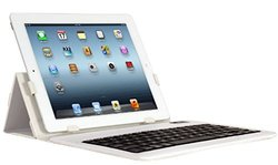 Ihome Type Series: Type Slim Bluetooth Keyboard Case For Ipad 2/3/4, White