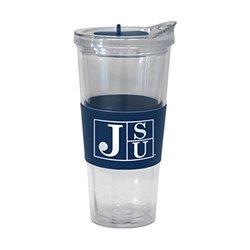 NCAA Jackson State Tigers Slider Tumbler, 22-ounce