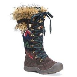 Women's Gwen Snowboots: 16632-brown/8