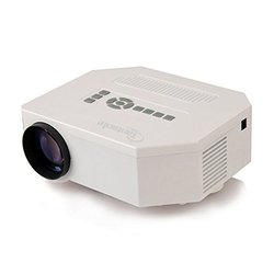 Multi-media 150 Lumen LED Projection Micro Projector - White (CT_150/B)