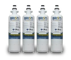 Kenmore 46-9690, 9690, WSL-3, LG: LT700P, ADQ36006101 Compatible Water Filter Replacement (4 Pack) by Bristi