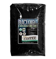 5 Lb. Bag, Black Knight Dark Roast OFT, Whole bean coffee, Fresh Roasted Coffee LLC.