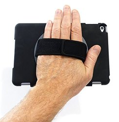 LapWorks iPad mini 4 Softgrip Handle Designed Exclusively for iPad Mini 4 in a Hard Case With a Soft Grip Neoprene Handle and 360 Degree Swiveling