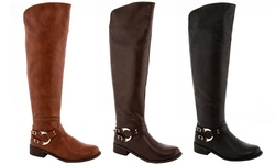 Lady Godiva Riding Boot: Brown/6
