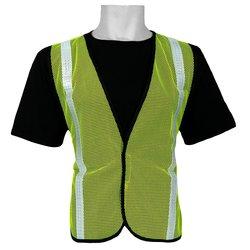 Global Glove FrogWear Economy Safety Vest 50 Pks - Lime Green - Size: 1