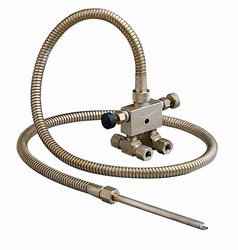 """Trico Brass P-12A Valve Assembly with Straight Nozzle - Size: 4"""""""
