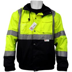 Global FrogWear Winter Jacket 3M Scotchlite Reflective - Multi - Size: L