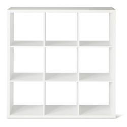 Threshold 9 Cube Organizer Storage Cube - White
