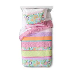 Sheringham Road Kylie Duvet Cover Set - Multi - Size: Twin
