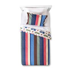 Sheringham Road Nathan Duvet Cover & Pillow Sham Set - Blue - Twin