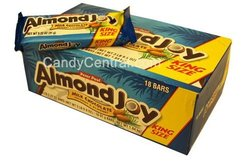 Almond Joy Candy Bars Pack of 18 - 3.5 Oz