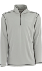 White Sierra Men's Techno Long-Sleeve 1/4 Zip T-Shirt - Apricot - Size: L