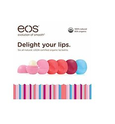 eos Organic Smooth Sphere Lip Balm 6 Pack