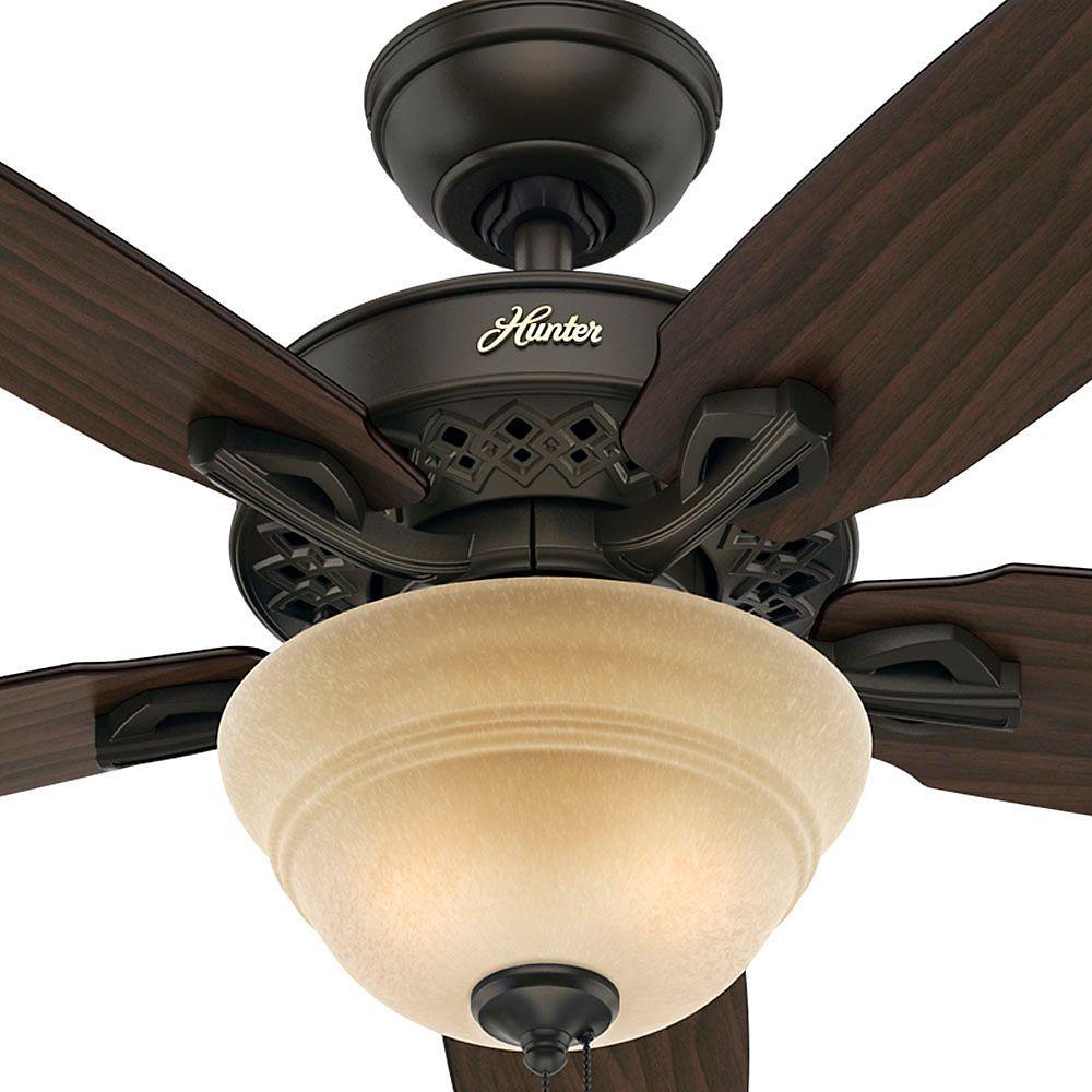 Hunter Heathrow 52 U0026quot  Ceiling Fan