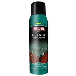 Weiman Granite Cleaner & Polish Aerosol - 17 fl. oz.