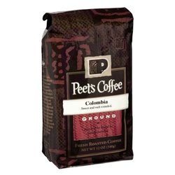 Peet's Coffee Colombia Deep Roast Ground Coffee - 12 oz