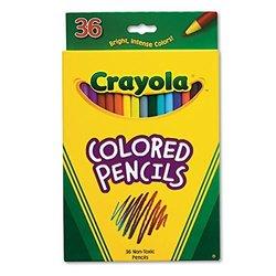 Crayola Long Colored Pencil 36-Color Set