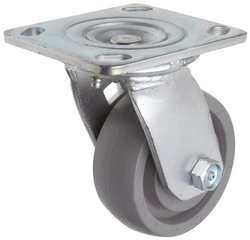 RWM Casters Plate Caster Wheel Stainless Steel Plate Ball Bearing