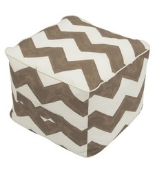 Threshold Outdoor Fabric 100% Polystyrene Beads Ottoman Pouf