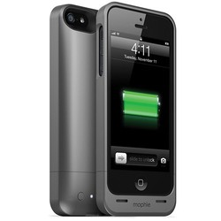 Mophie Juice Pack Helium Case for iPhone 5 - Dark Metallic