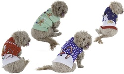 New York Dog Ugly Holiday Sweater: Gingerbread Men/medium