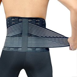 Vital Salveo- Germanium+bamboo Charcoal Lower Back Support C-fit (large)