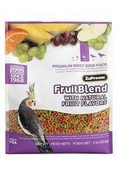 ZuPreem AvianMaintenance FruitBlend Premium Bird Diet Medium Birds 2 lb