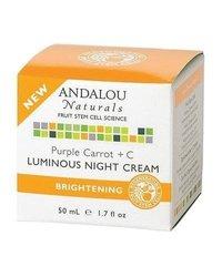 ANDALOU NATURALS NIGHT CREAM,PRPL CRRT+C, 1.7 OZ