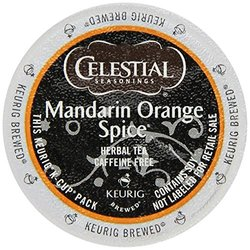 Horarary Celestial Seasonings Mandarin Orange Spice Herbal Tea K-Cup