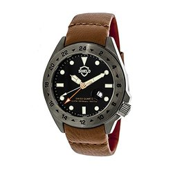 Shield Caruso Men's Watch: Sh0906/black-grey Dial