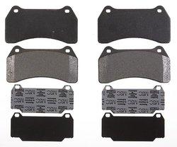 Raybestos PGD938M Professional Grade Semi-Metallic Disc Brake Pad Set