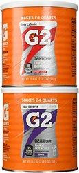 Gatorade G2 Combo Grape/Fruit Punch Powder Mix - 2 Pack - 19.6 oz