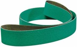 3M 2 in Width x 60 in Length Coated Alumina Zirconia Sanding Belt