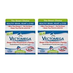 Terry Naturally/EuroPharma Vectomega 60 Capsules -2 Pack