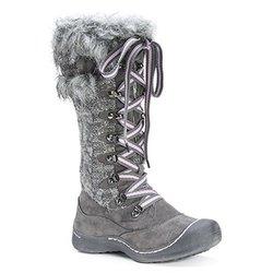 Muk Luks Women's Gwen Snow Boots - Grey - Size: 8